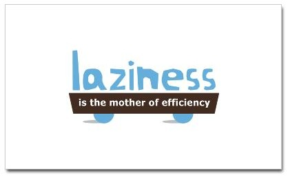 laziness is the mother of efficiency MPWH design