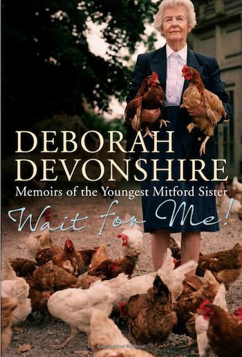 deborah mitford duchess devonshire book wait for me