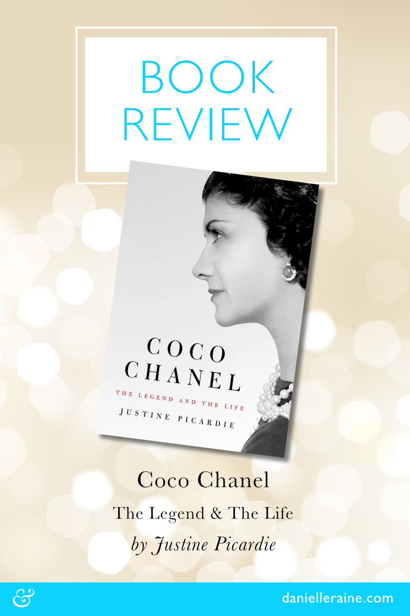 Coco Chanel The Legend & The Life by Justine Picardie book review pin