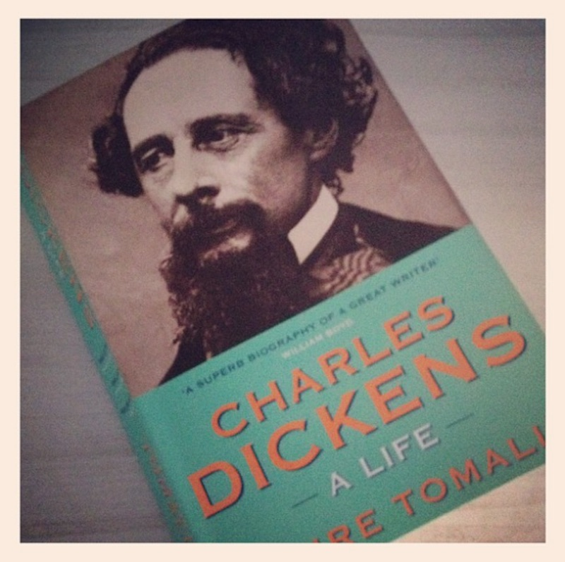 charles dickens a life by claire tomalin book cover