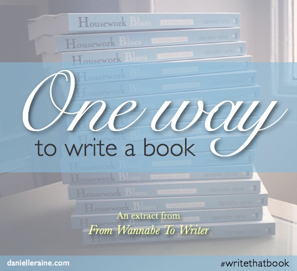 Writer's Corner: One way to write a book