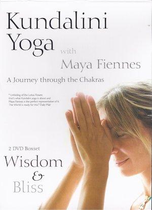 maya fiennes journey through the chakras dvd set 6 7 wisdom bliss