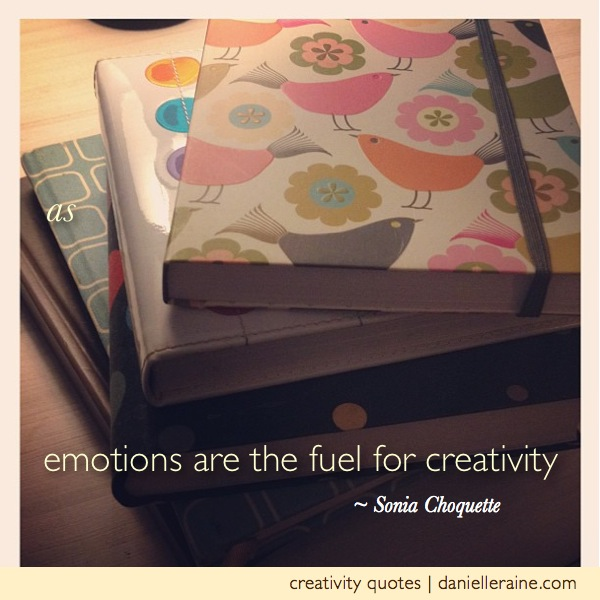 Life: the ultimate creative fuel