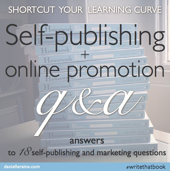 My self-publishing adventures: Q+A