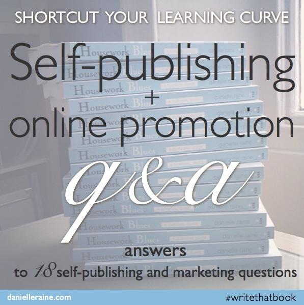 Self-publishing, book marketing & online promo Q&A