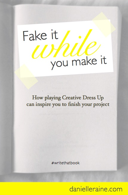 Writer's Corner: Fake it while you make it