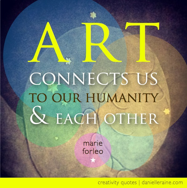 Art, humanity & creative service
