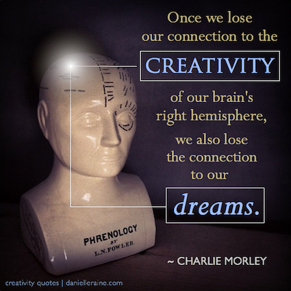 charlie morley dreams creativity quotes