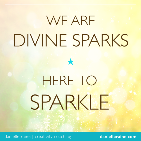 divine sparks - danielle raine creativity coaching