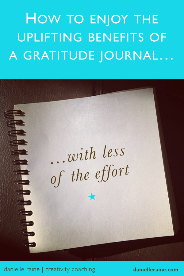 Easy Gratitude Journal