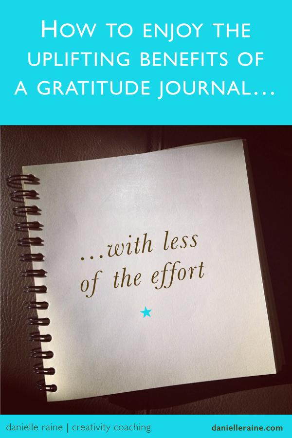 Easy Gratitude Journal