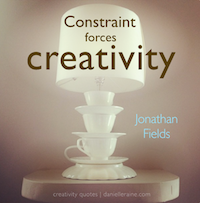 Jonathan Fields creativity quote TN