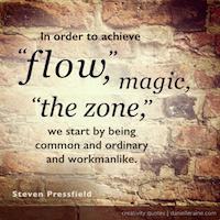 Steven Pressfield creativity quote TN