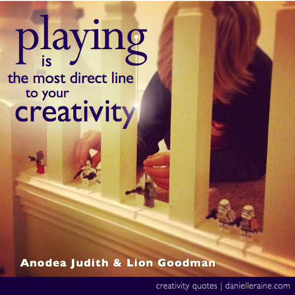 creating on purpose playing creativity quote
