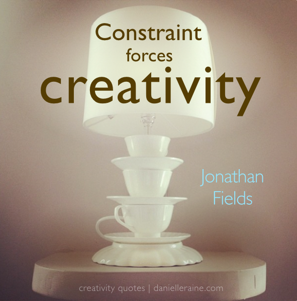 Constraint vs abundance: which is better for creativity?