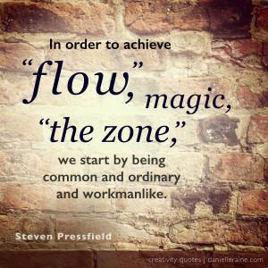 Steven Pressfield creativity quote