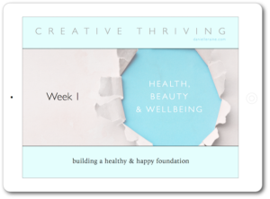 creative thriving email coaching iPad