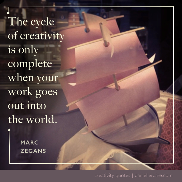 Marc Zegans creativity quote