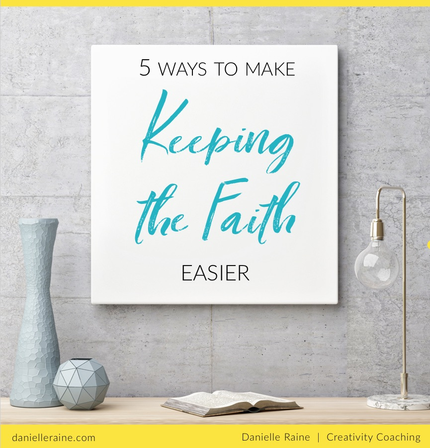 keeping the faith ebook for creatives