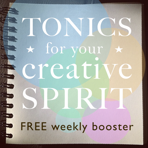 Tonics for your creative spirit optin