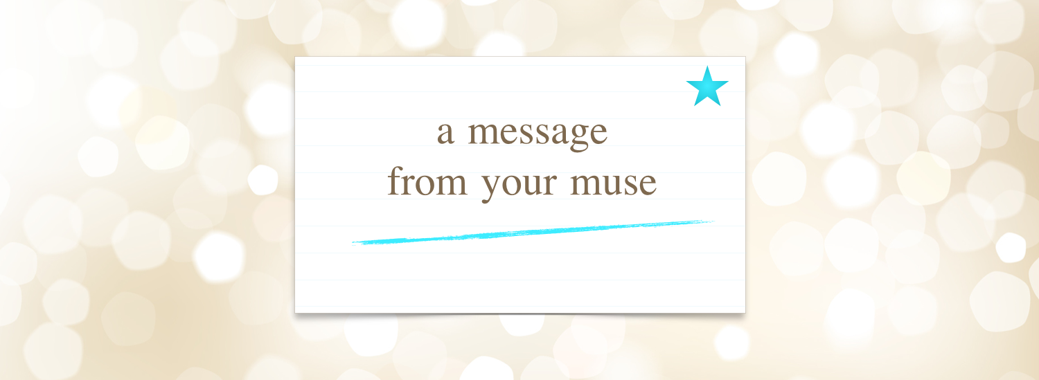 message from your muse banner