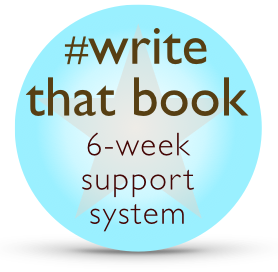 Write that book 6 week support system
