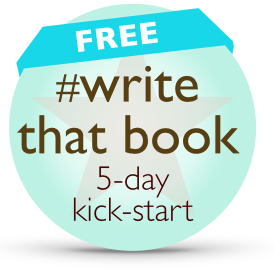 write that book 5 day kick start