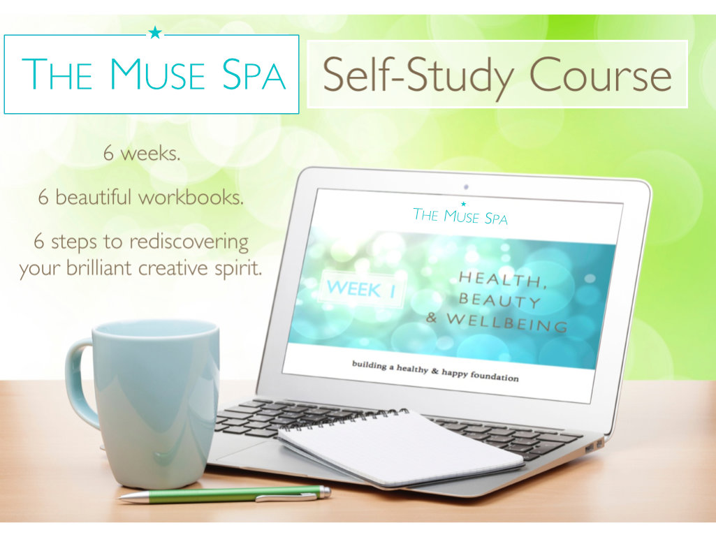 Muse Spa digital retreat creatives writers artists