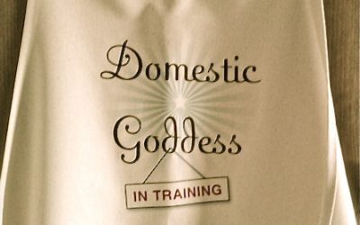 Domestic Goddess In Training – Apron
