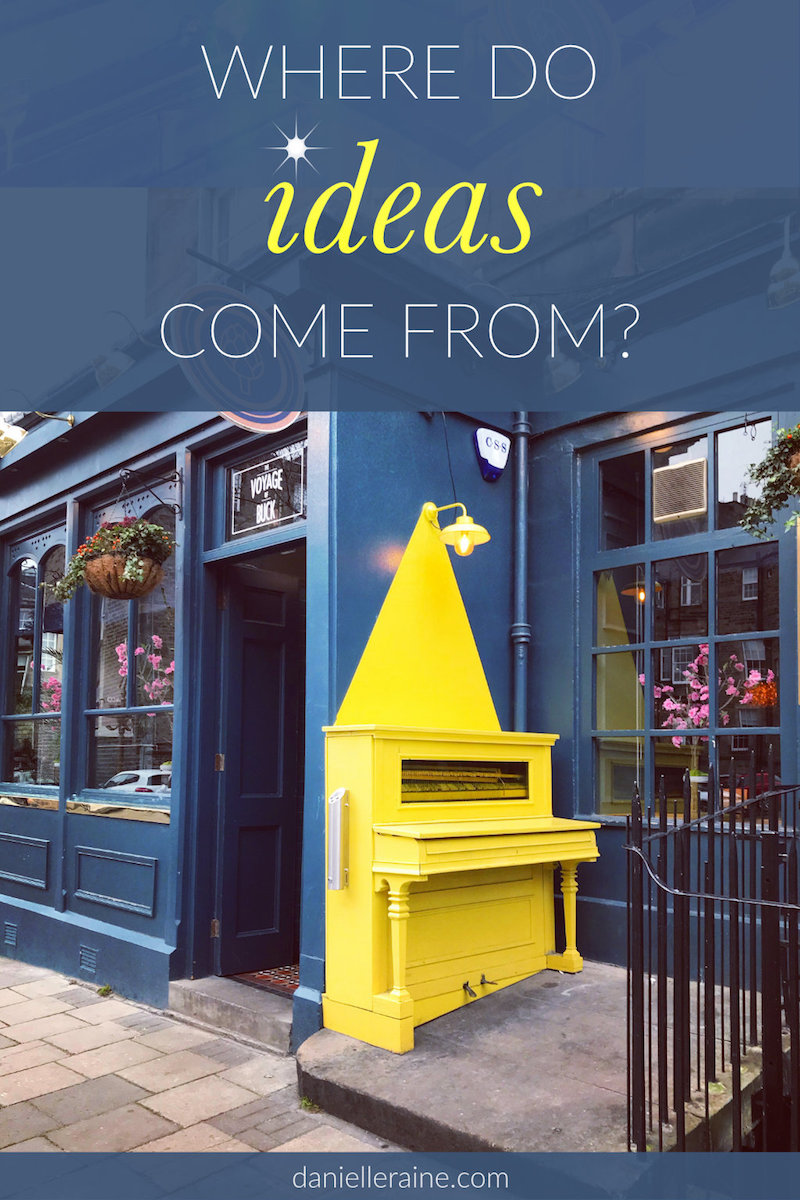 where do ideas come from yellow piano