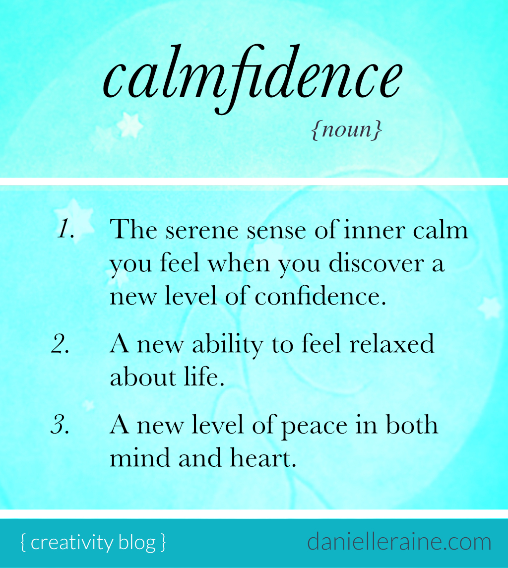 calmfidence definition ig