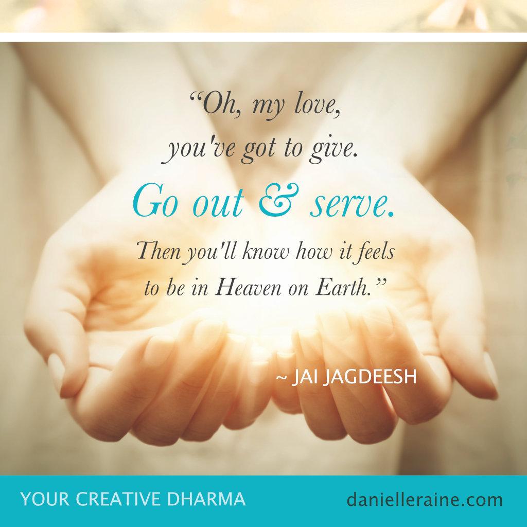 jai jagdeesh dharma quote