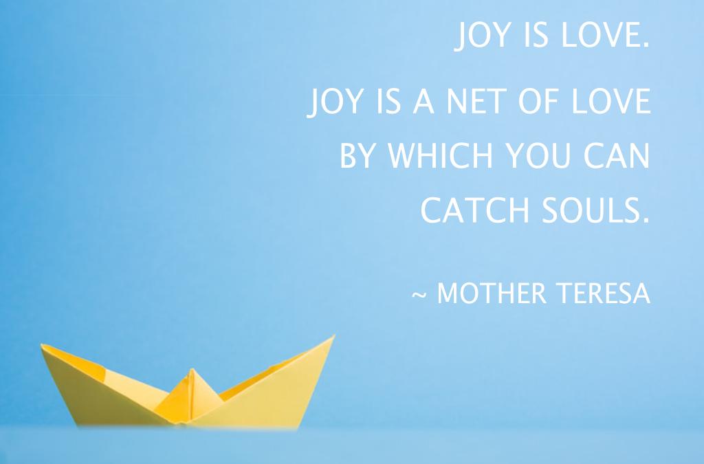 Joy : My new Creative Director