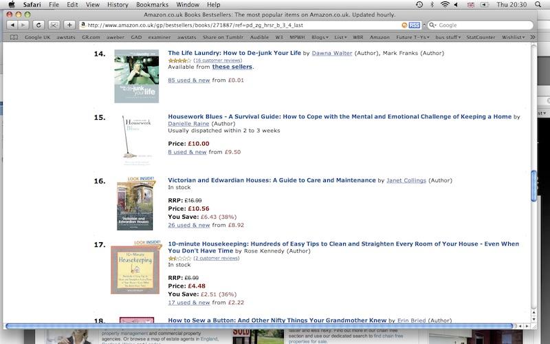 Wannabe writer bestseller list screenshot danielle raine copy