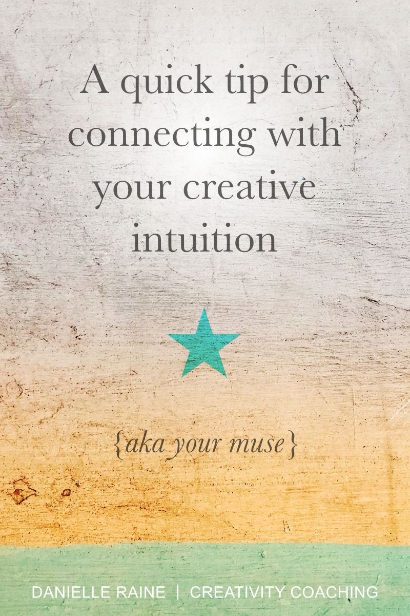 a ridiculously simple tip connect with intuition aka muse