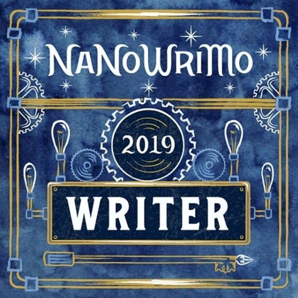 nanowrimo writer badge