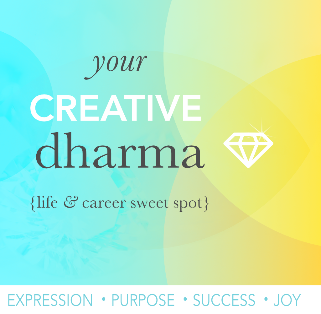 Your creative dharma career life sweet spot online course
