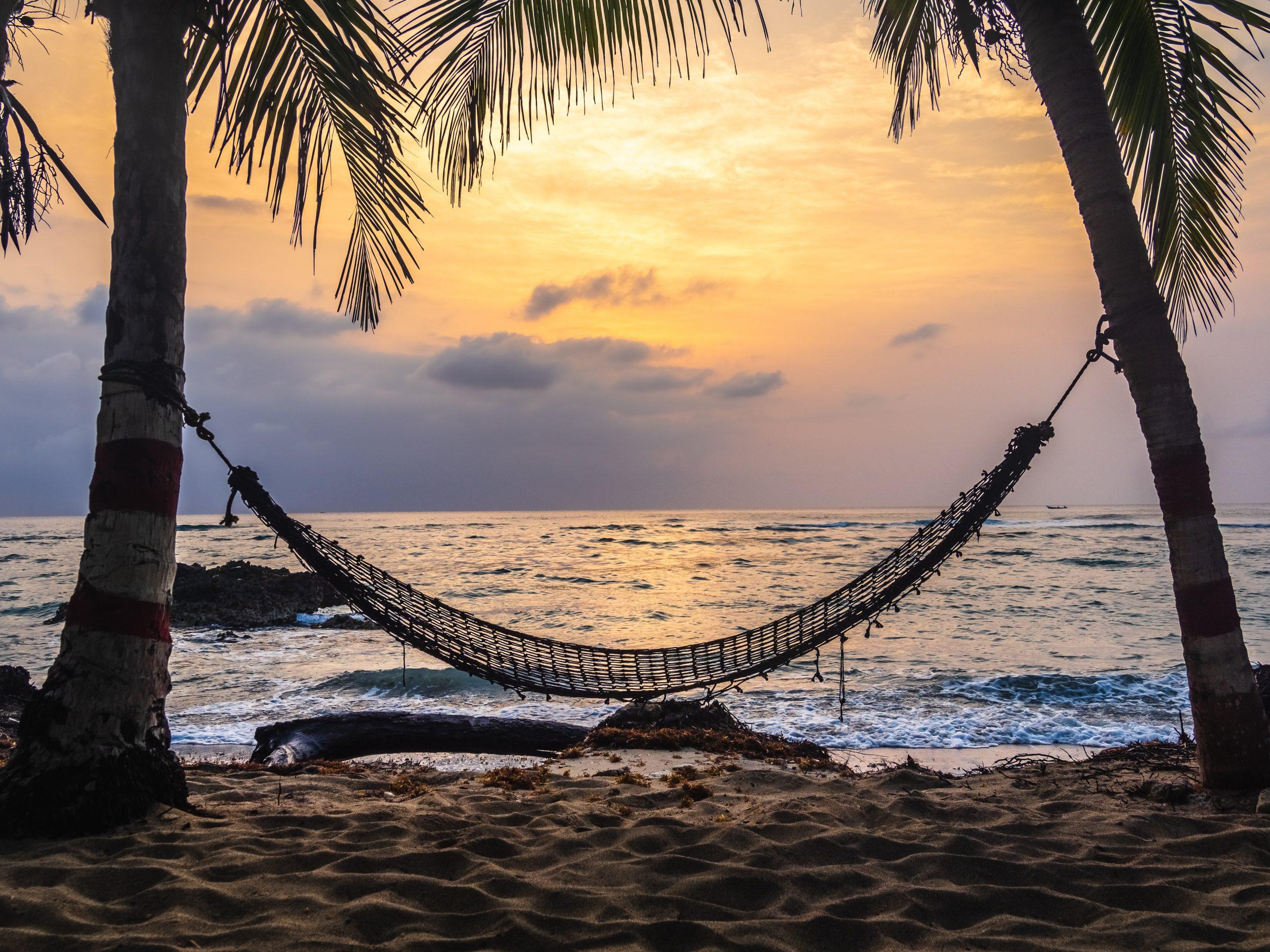 hammock sunset life loves you blog post