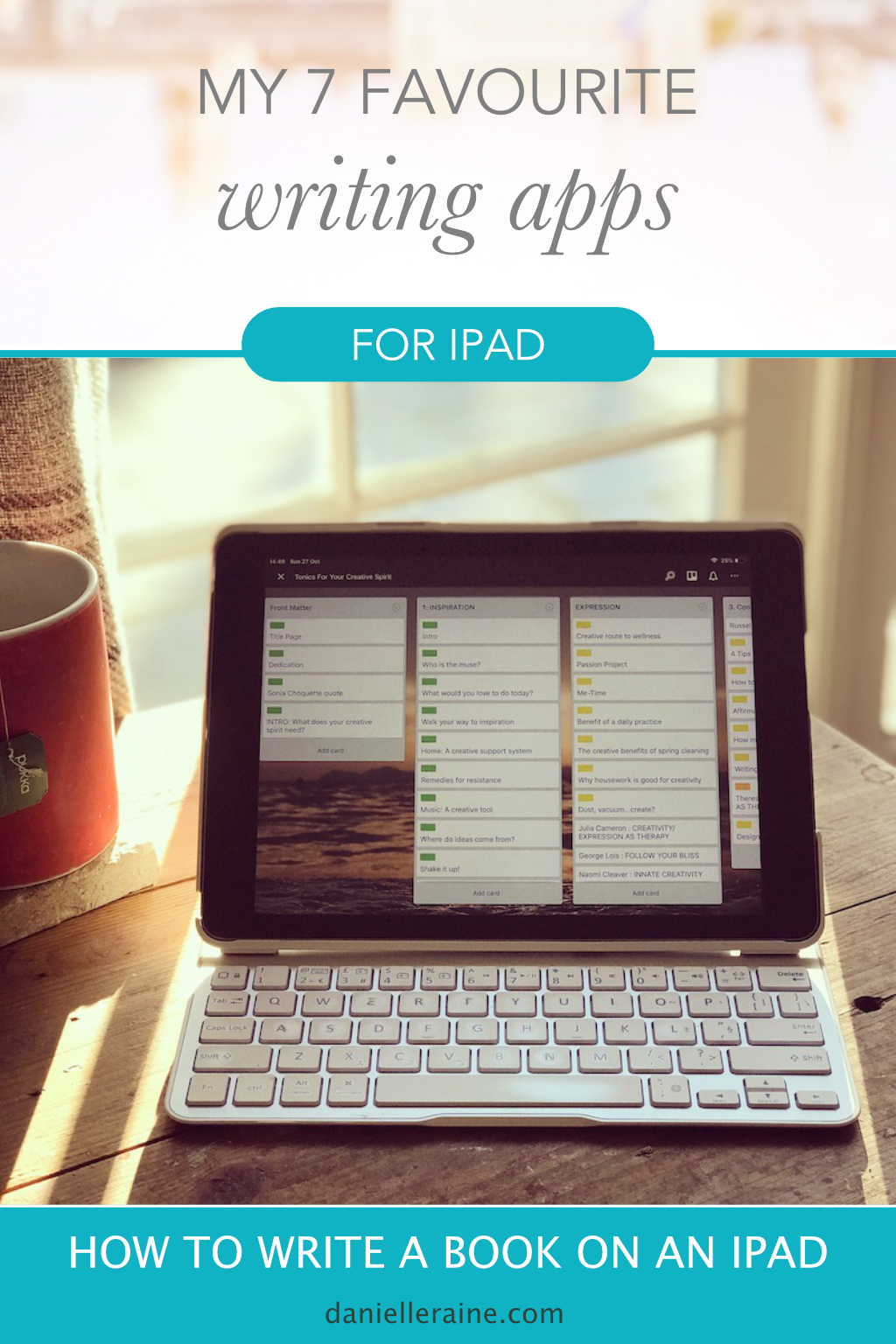 my 7 favourite writing apps for ipad part 2 danielle raine