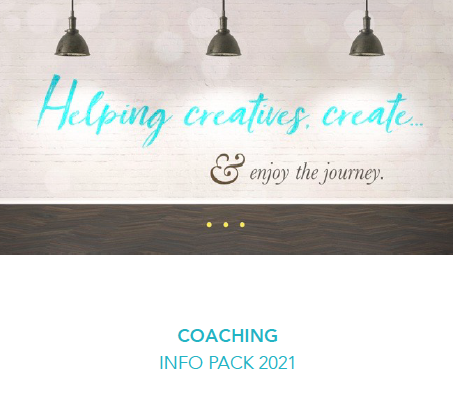 creativity coaching packages 2021 info pack cover