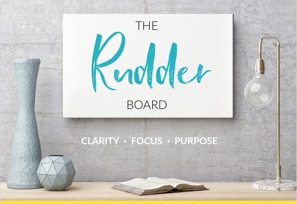 rudder board clarity coaching tool