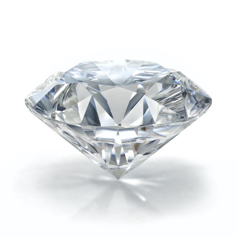 solitaire diamond sparkling lights