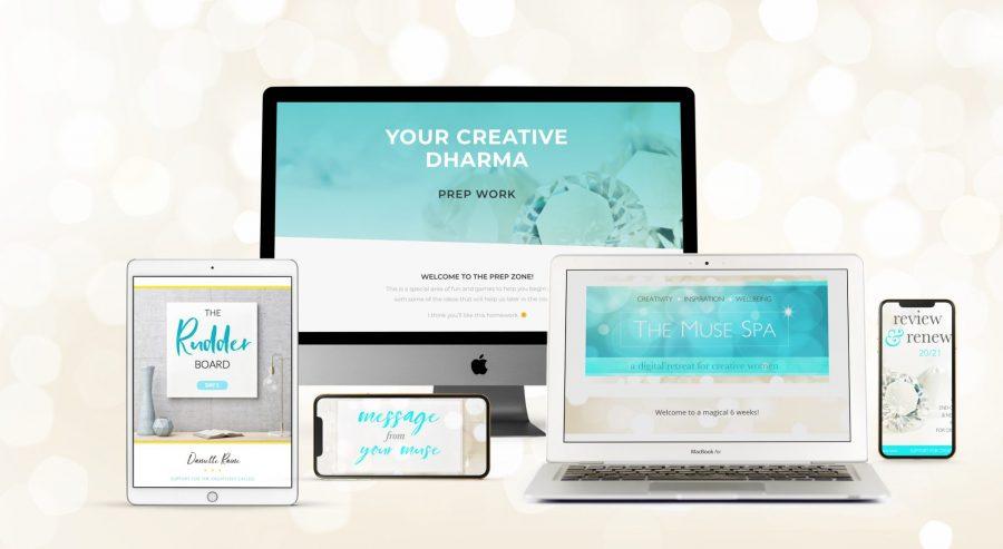 bundle of creativity coaching courses