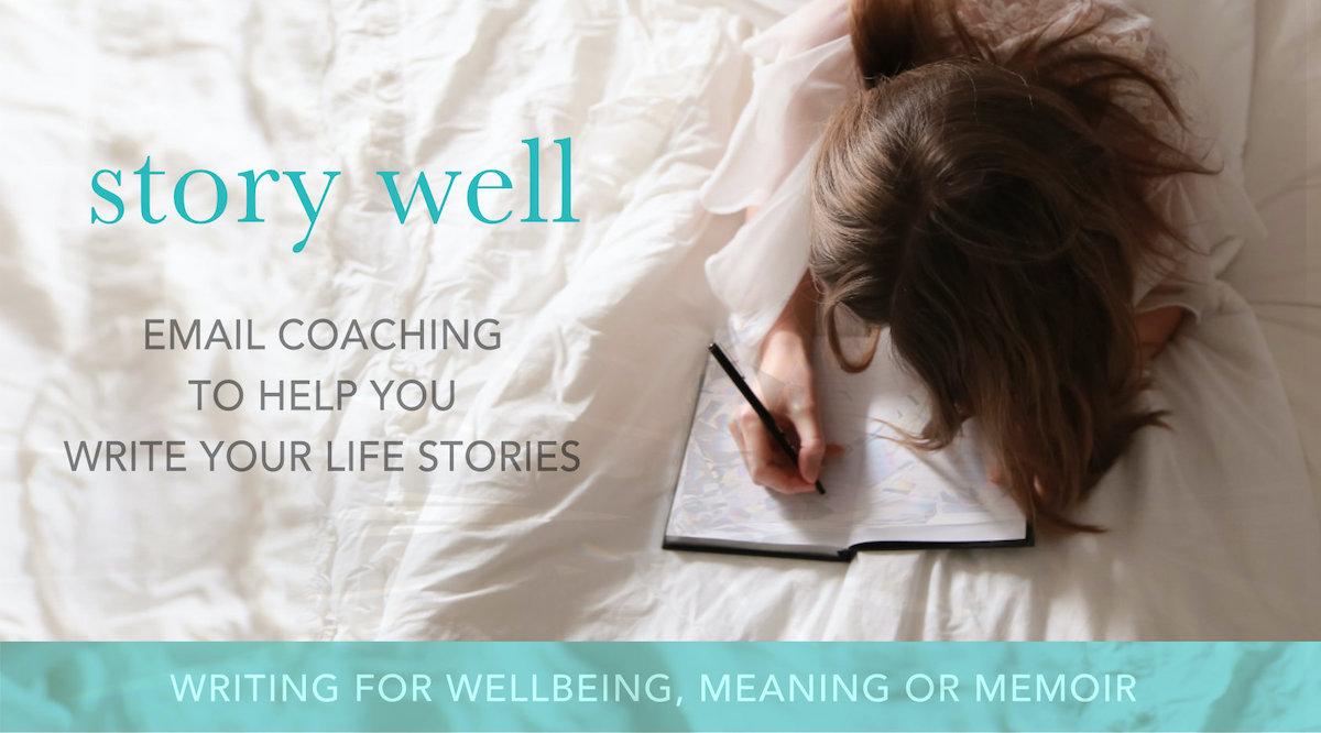 story well email coaching writing memoir banner
