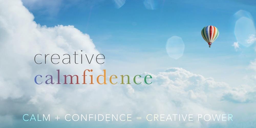 creative calmfidence banner