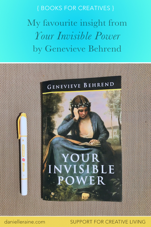 success is inevitable th power of ideas inspired by your invisible power by genevieve behrend