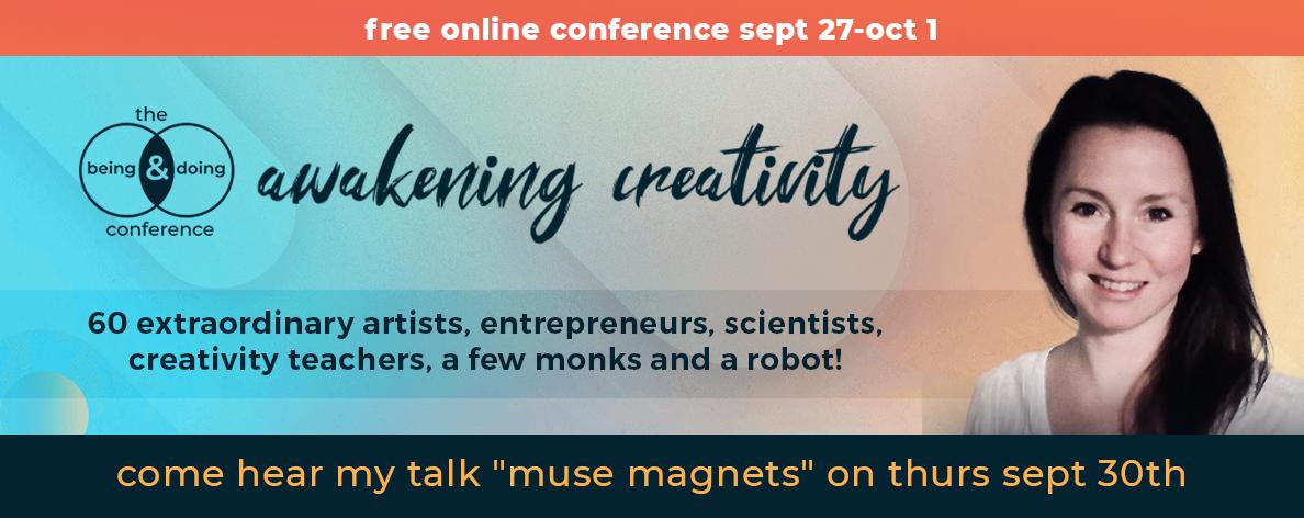 Danielle Raine awakening creativity conference september 2021