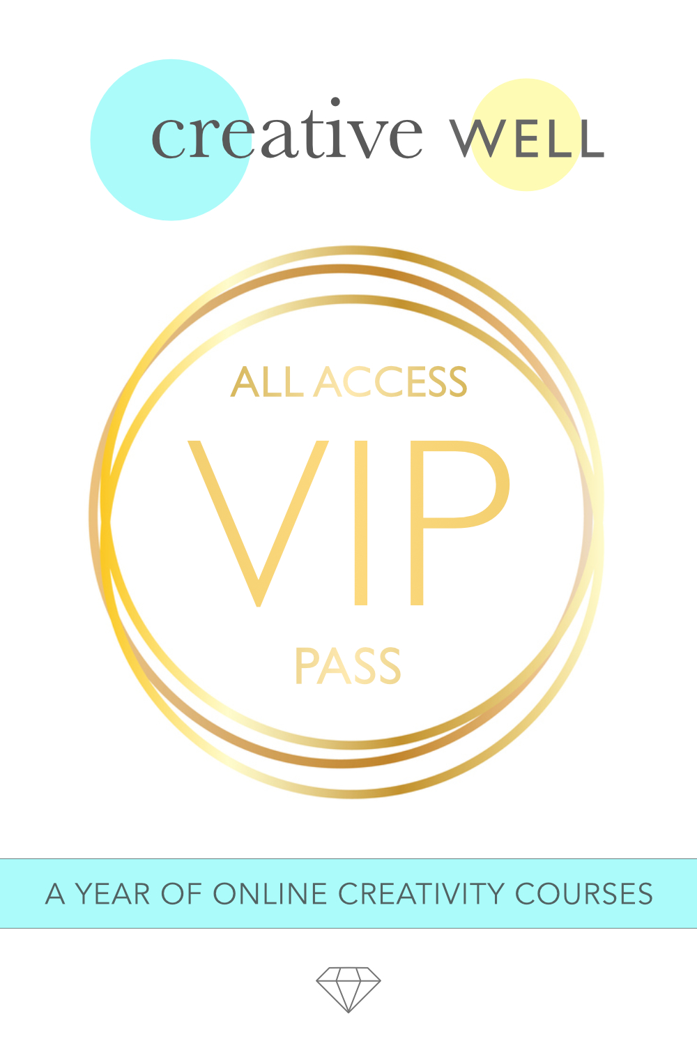 creative well all access vip pass online creativity courses