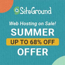 siteground web hosting sale 2021