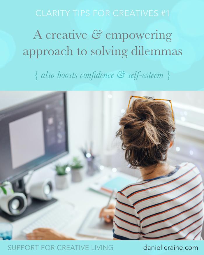 creative approach to solving dilemmas